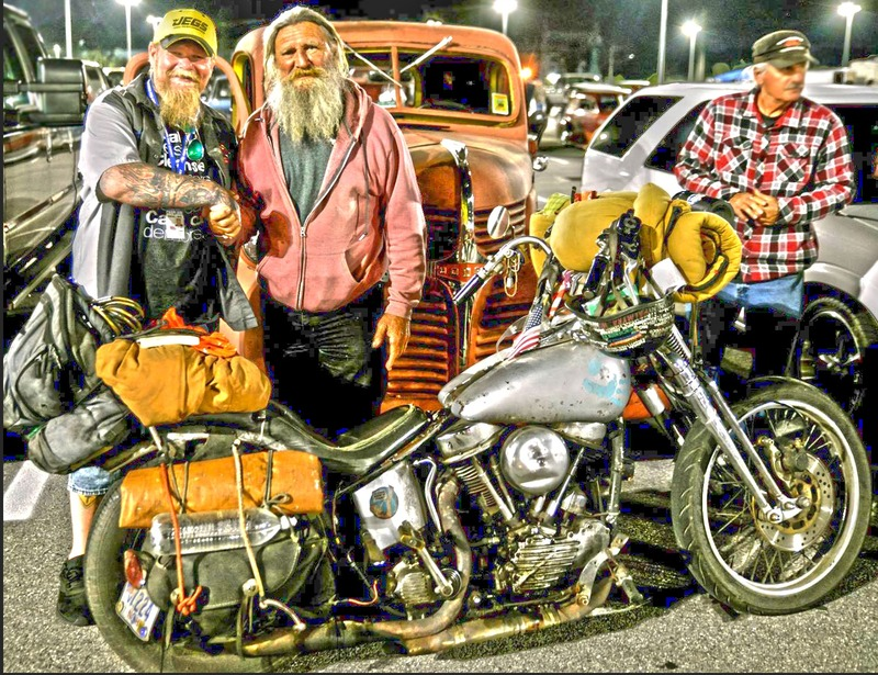 "We met American Icon ""Panhead Billy"""
