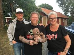 With Kari and Lili-Ann